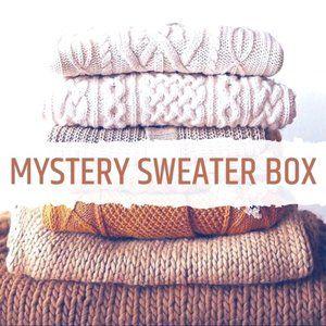 Three Sweater Mystery Box $30
